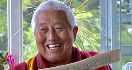Long Life Prayers for Yongdzin Rinpoche
